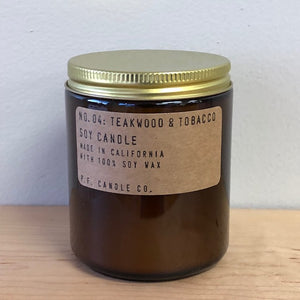 P.F. Candle Co. - Teakwood & Tobacco Candle