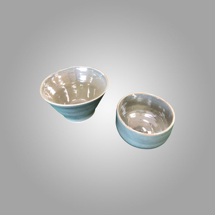 Bayclay: Green Bowls - set of 2