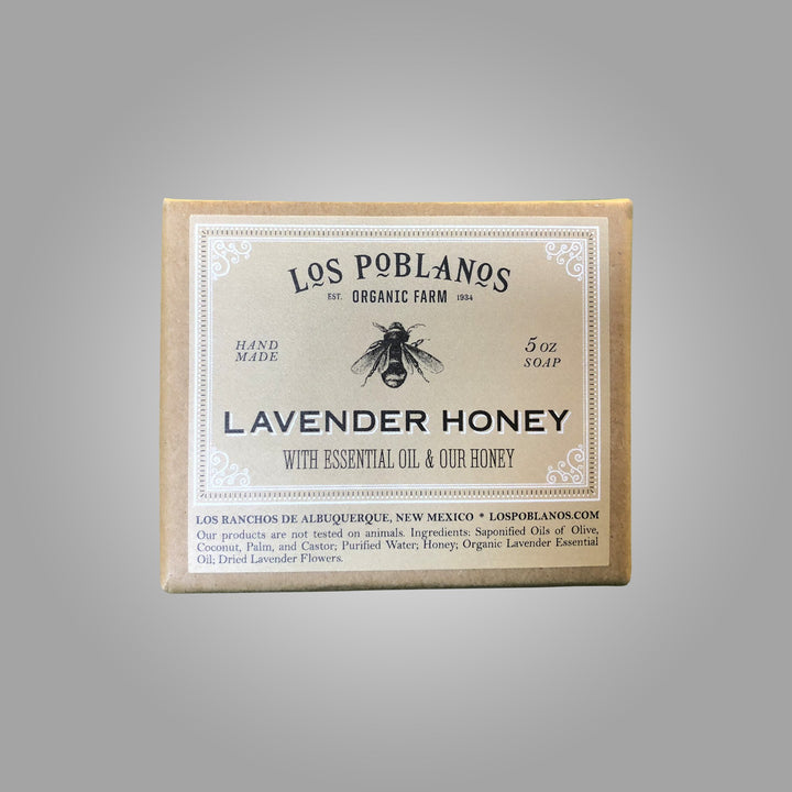 LoS Poblanos Soap Bar - Lavender Honey
