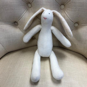 Stuffed Soft Bunny - White