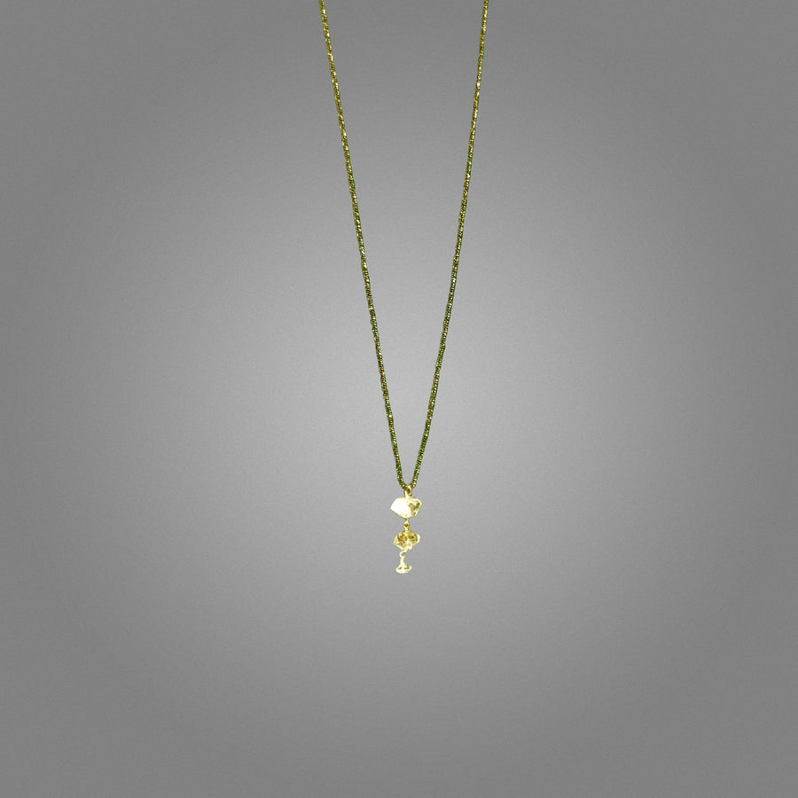Herkimar Diamond Drop Necklace