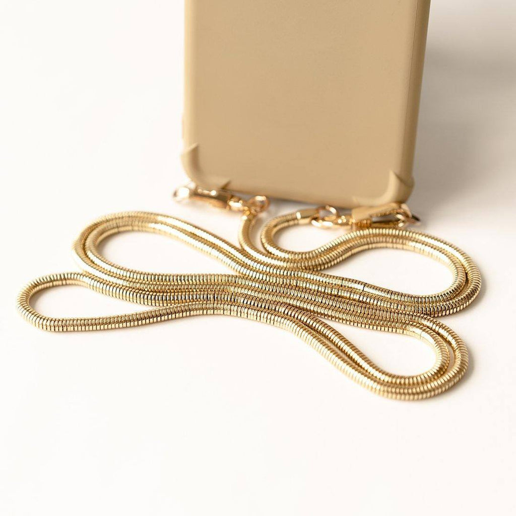 LUXCHAIN Gold Chain for Phone Sling