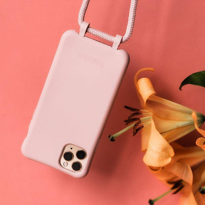 DAWN Modular Phone Sling with Detachable Cord in Rose - Taizjo