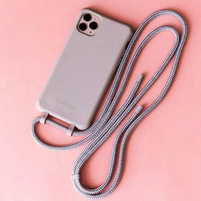 DAWN Modular Phone Sling with Detachable Cord in Grey - Taizjo