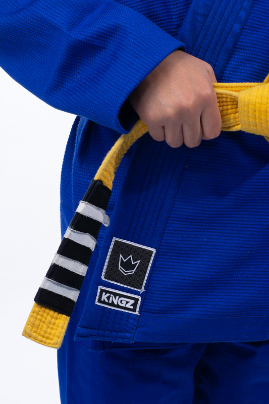 The ONE Kids Jiu Jitsu Gi - Blue - FREE White Belt