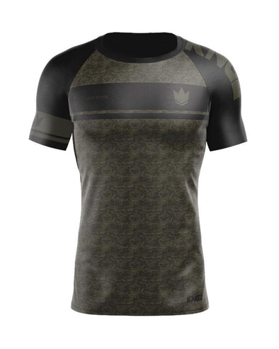 Digital Camo S/S Rash Guard