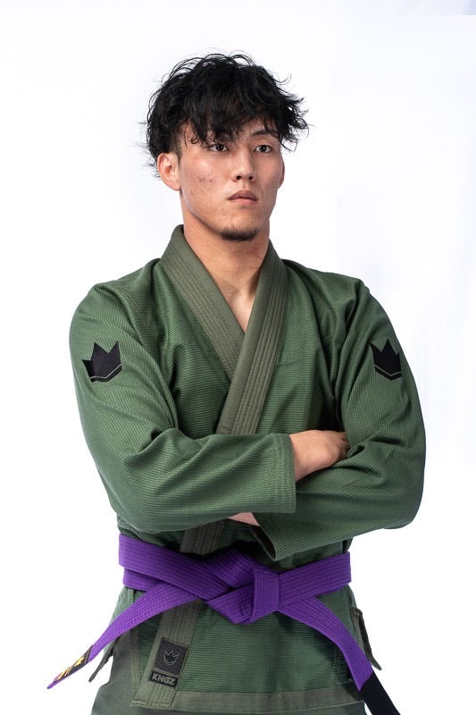 The ONE Jiu Jitsu Gi - Military Green