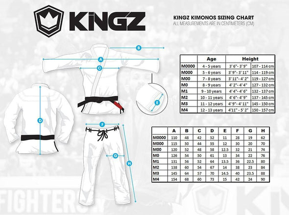 The ONE Kids Jiu Jitsu Gi - White - FREE White Belt