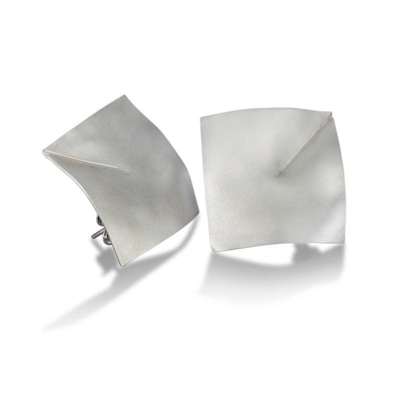 Origami Stud Earrings