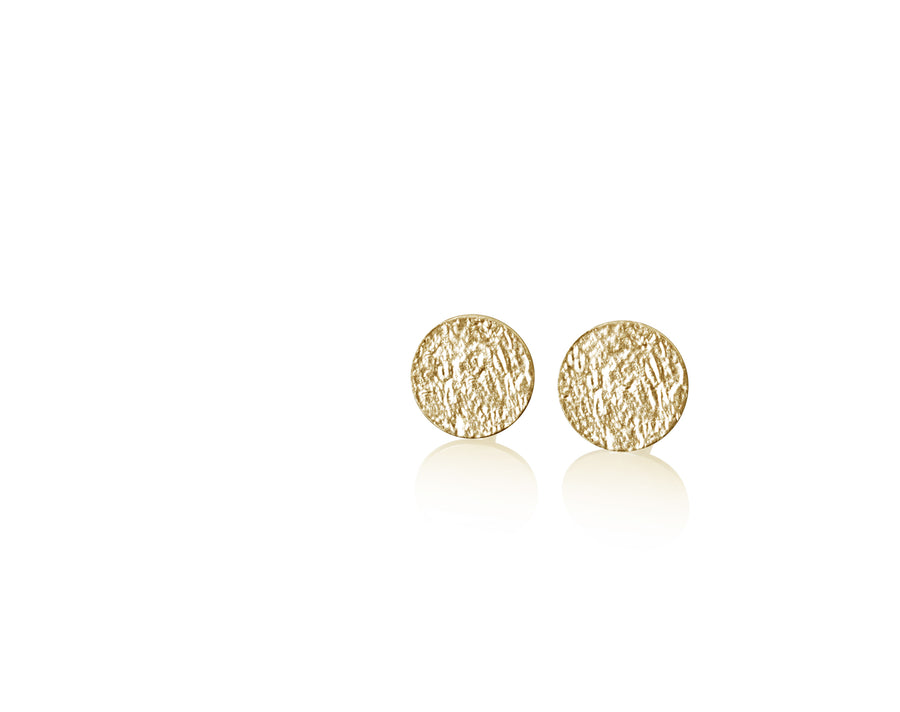 Dot Circle Earrings