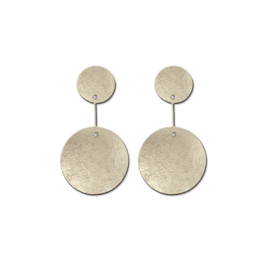 Circular Dangle Earrings