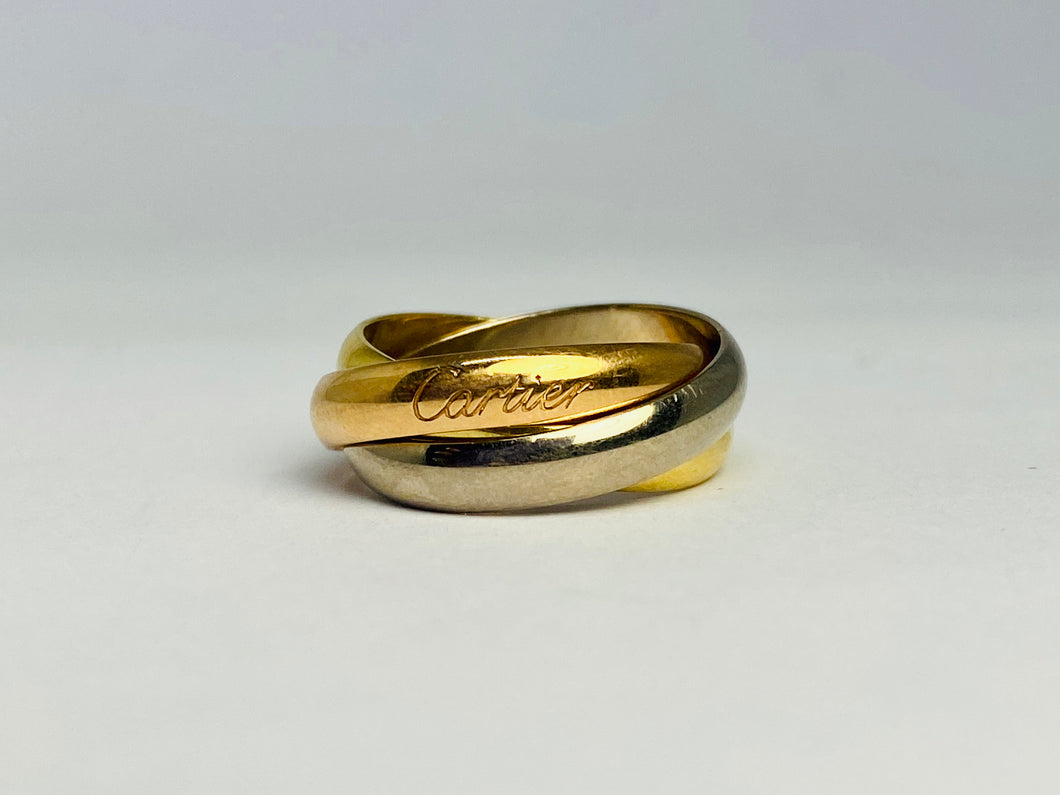 Cartier Les Must De Cartier Trinity 18 kt Gold Ring