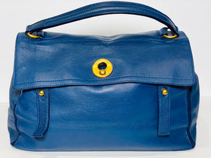 YVES SAINT LAURENT Muse 2 Bag - Blue