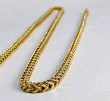 Load image into Gallery viewer, 14 Kt Yellow Gold Franco Chain Necklace