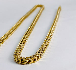14 Kt Yellow Gold Franco Chain Necklace