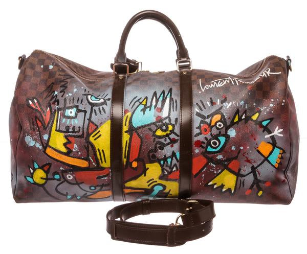 Laurent Proneur Louis Vuitton Duffle Art Bag