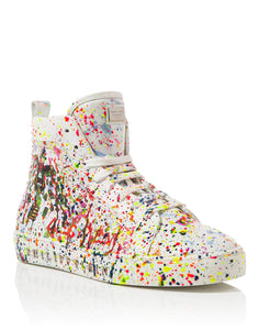 "Philipp Plein Alec Monopoly ""Alec Two"" Hi-Top Sneakers"