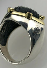 Load image into Gallery viewer, David Yurman Quatrefoil Collection Set, Ring and Earrings with Carved Black Onyx