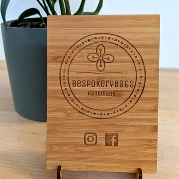 Rectangle Wooden Sign