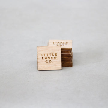 Square Wooden Ply Tags