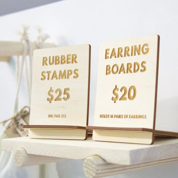 Rectangle Wooden Ply Price Boards