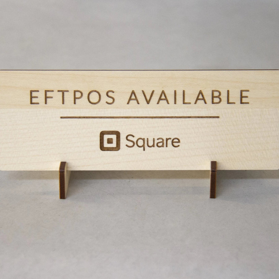 Eftpos Available Sign