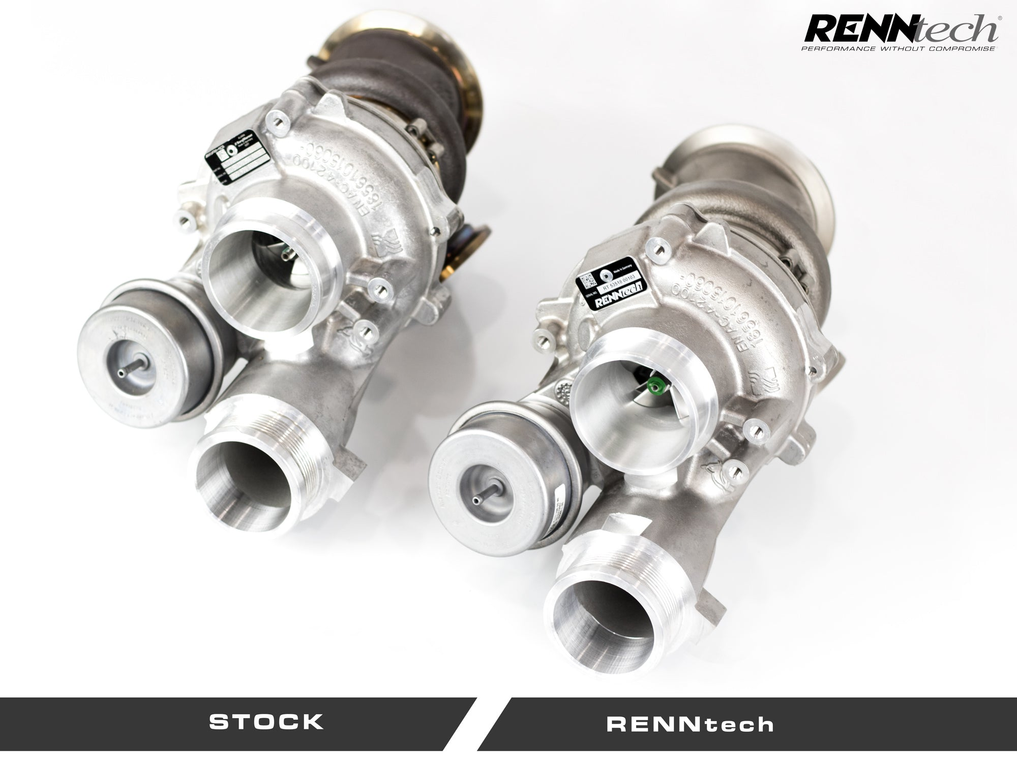 RENNtech Stage II Turbo Upgrade Mercedes-Benz AMG GTS