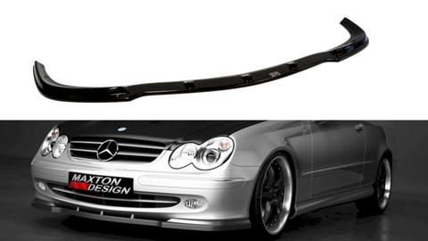 Maxton Design Front Splitter Mercedes CLK W 209 FOR STANDARD VERSION
