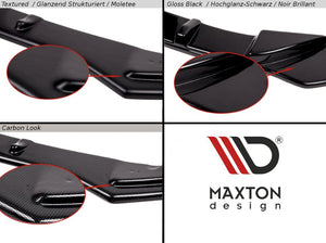 Maxton Design Front Splitter Mercedes CLK W209 FOR AMG