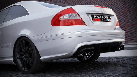 Maxton Design Rear Bumper Mercedes CLK W209