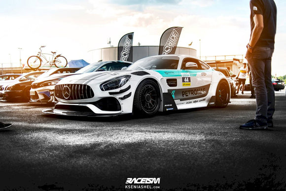 Maxton Design Wide Body + Set Of Splitters Mercedes-AMG GTS FACELIFT (2017-UP)
