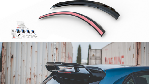 Maxton Design Spoiler Extension MERCEDES BENZ A35 AMG W177