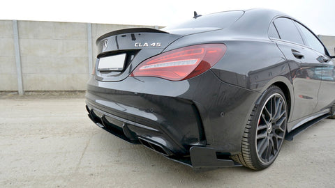 Maxton Design Racing Rear Side Splitters Merceds CLA45 AMG C117 FACELIFT (2017-2019)