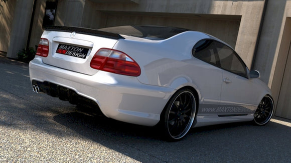 Maxton Design Rear Bumper Mercedes CLK W208