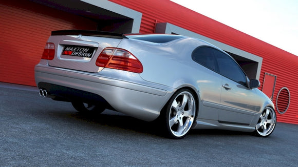 Maxton Design Rear Bumper Mercedes CLK W208 AMG LOOK