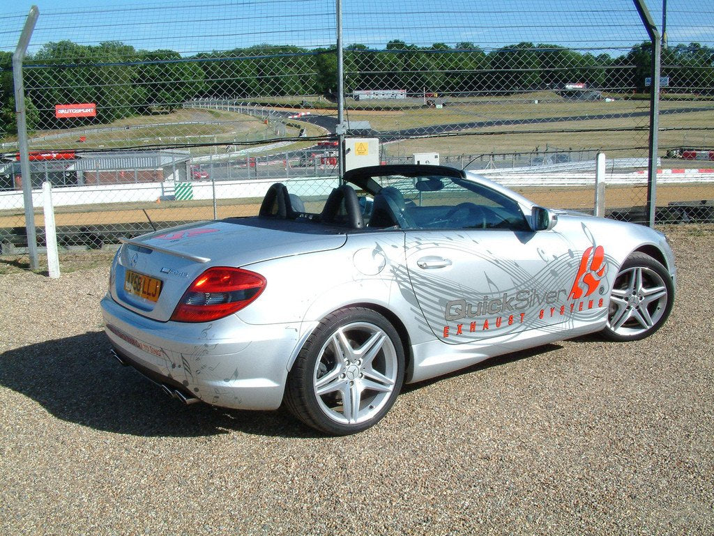 Quicksilver Exhausts - Mercedes SLK 55 AMG R171 'F1 Pace Car' Sport System  - Years 2005-10 - MM655S
