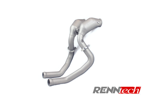 RENNtech Downpipes w/200 Cell Sport Cats for Mercedes-Benz GLC63 AMG X253