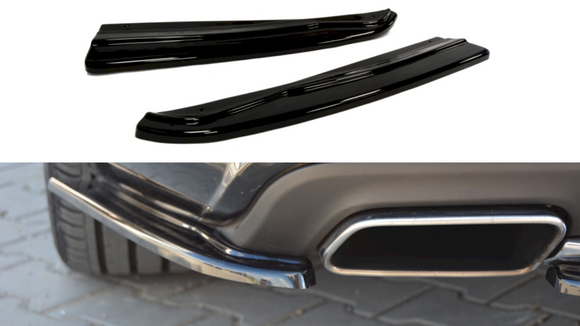 Maxton Design Rear Side Splitters Mercedes CLS C218 AMG-LINE (2011-2014)