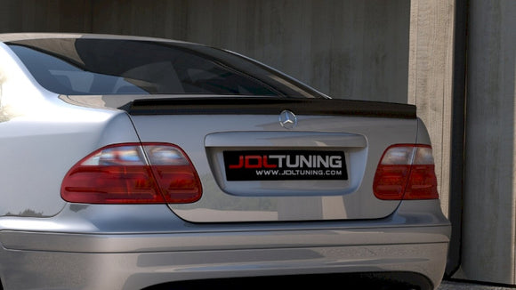 Maxton Design Rear Spoiler Mercedes CLK W208 AMG LOOK