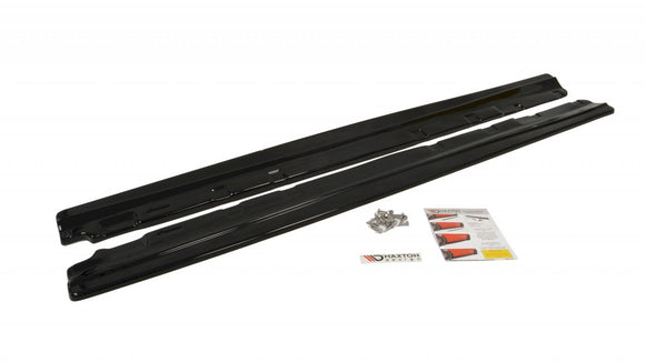 Maxton Design Side Skirts Diffusers Mercedes C-CLASS W204 (FACELIFT) STANDARD (SALOON) 2010-2015