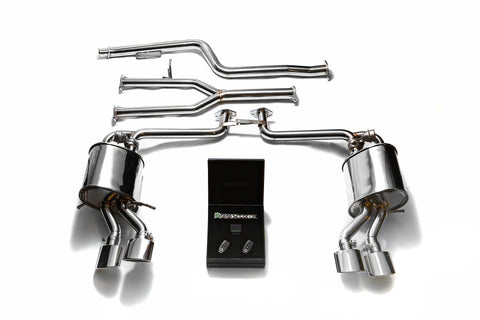 Armytrix Cat Back Exhaust for Mercedes Benz C-Class C180 W204