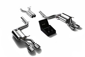 Armytrix Cat Back Exhaust for Mercedes Benz C63 AMG W204