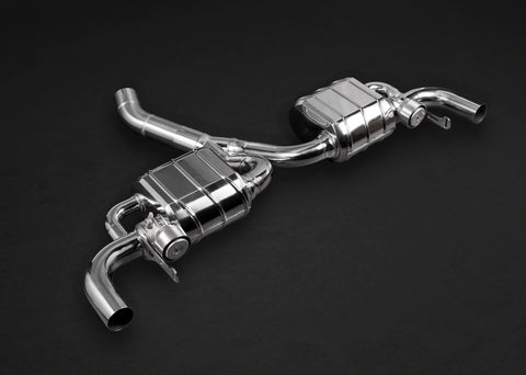 Capristo Cat Back Mercedes AMG CLA45 – Valved Exhaust (CES3)