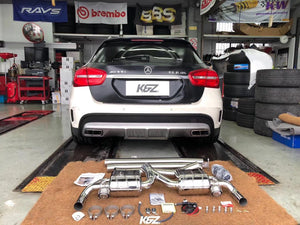 Capristo Cat Back Mercedes AMG GLA45 – Valved Exhaust (CES3)