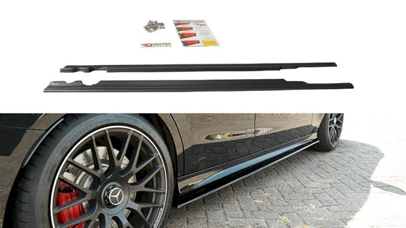 Maxton Design  Side Skirts Splitters MERCEDES C-CLASS S205 63 AMG ESTATE (2015-2018)