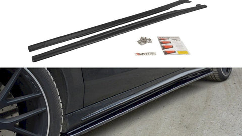 Maxton Design Side Skirts Diffusers Mercedes CLA 45 AMG C117 (FACELIFT) (2017-UP) & A W176 AMG FACELIFT (2015-2018)