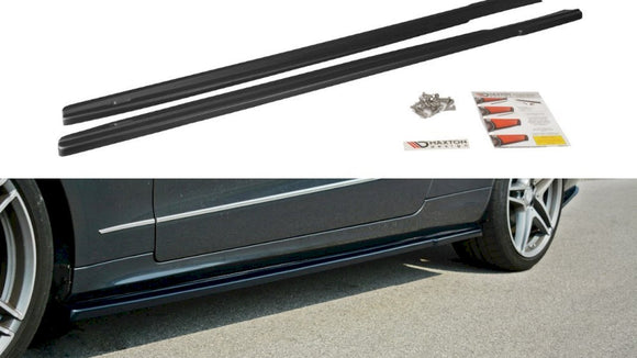 Maxton Design Side Skirts Splitters MERCEDES E W212 COUPE & CABRIO (2012-2017)