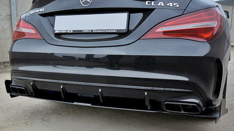 Maxton Design Rear Diffuser V.3 Mercedes CLA A45 AMG C117 FACELIFT (2017-UP)