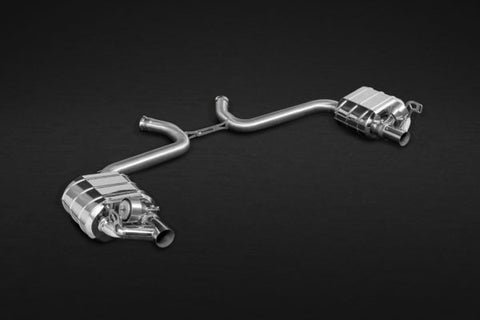 Capristo Mercedes AMG SL63 (R231) Biturbo – Valved Exhaust with Mid-Pipes