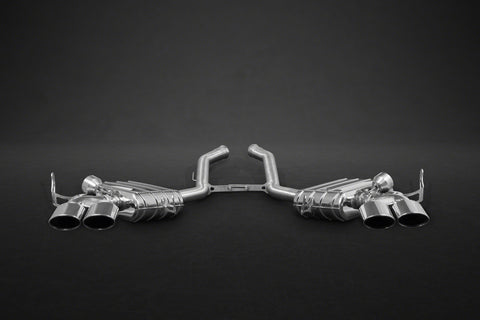 Capristo Mercedes AMG ML63(W164) – Valved Exhaust with Stainless Tips